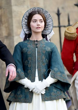 Jenna Louise Coleman - Filming 'Victoria' set in East Yorkshire
