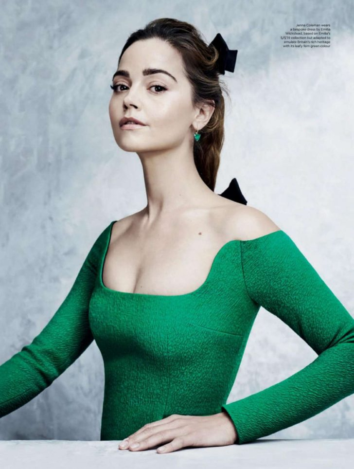 Jenna Louise Coleman for Great British Brands Magazine 2019
