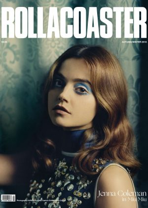Jenna Louise Coleman for Roller Coaster Cover (Autumn/Winter 2018)