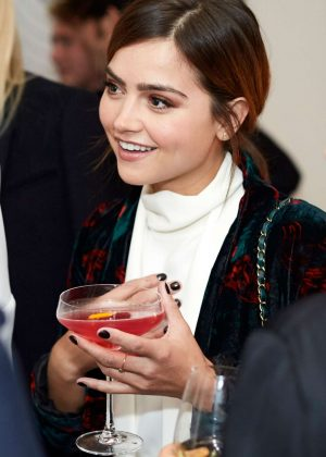 Jenna Louise Coleman - Glamour Magazine Dinner in London