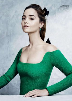 Jenna Louise Coleman - Great British Brands (Magazine 2019)