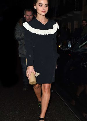 Jenna-Louise Coleman - Harvey Weinstein Pre BAFTAs Dinner in London