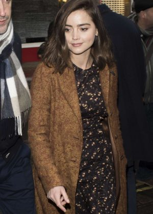 Jenna-Louise Coleman head to BAFTAs Dinner in London