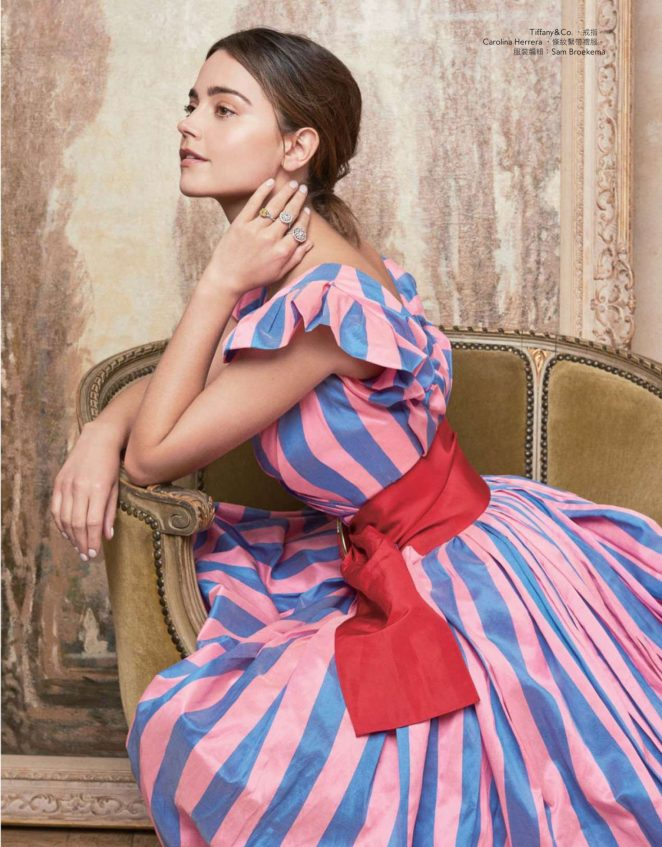 Jenna Louise Coleman - InStyle Taiwan Magazine (March 2018)