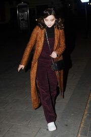 Jenna-Louise Coleman - Leaving rehearsals for All My Sons at the Old Vic theater in London