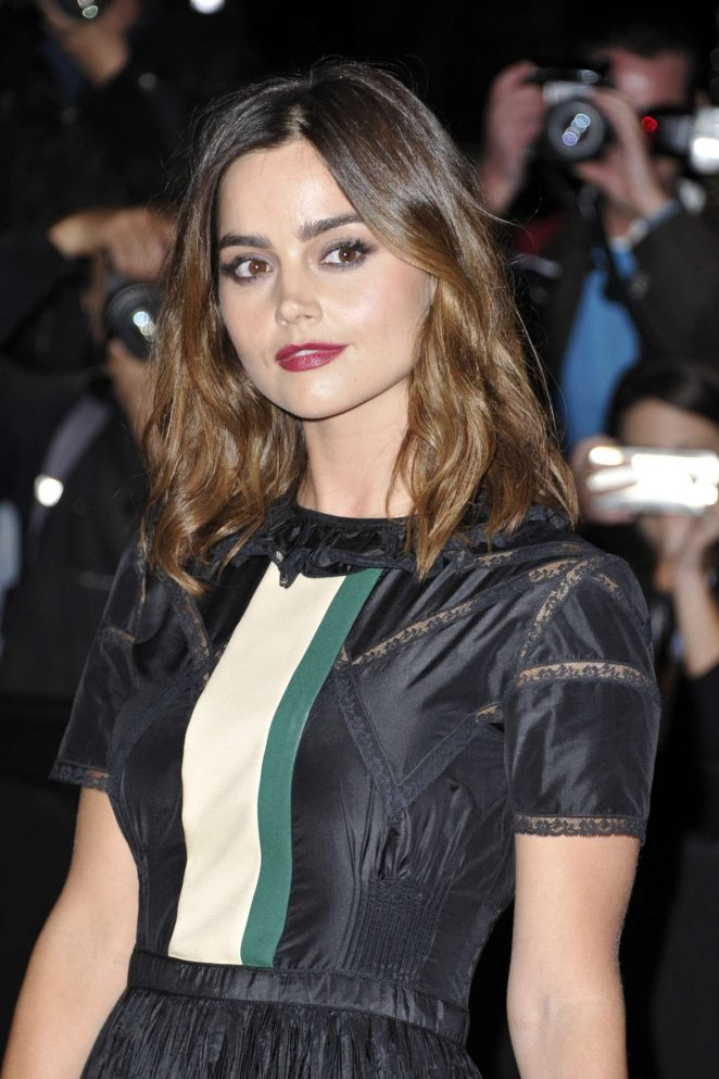 Jenna Louise Coleman - MIPCOM 'Victoria' Red Carpet in Cannes