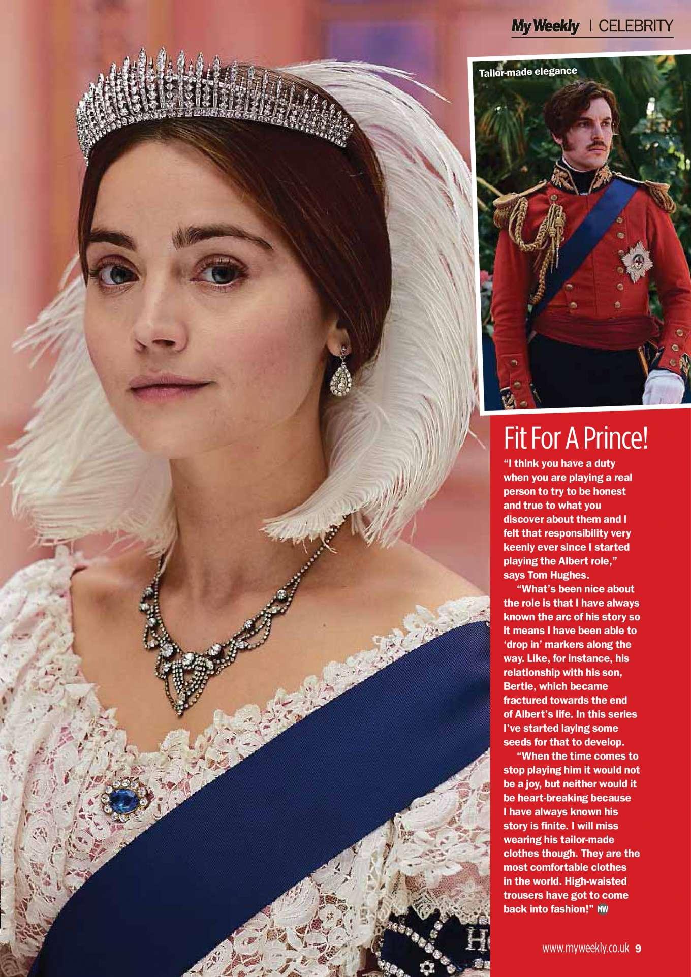 Jenna-Louise Coleman - My Weekly Magazine (April 2019)