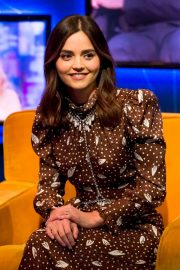 Jenna Louise Coleman - On The Jonathan Ross Show in London