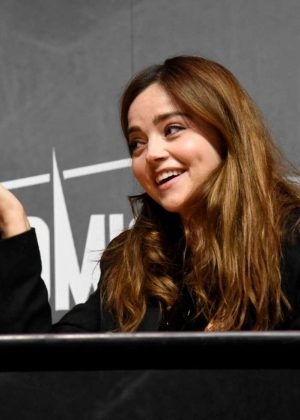 Jenna Louise Coleman - Panel at Comic Con Paris - Day 3