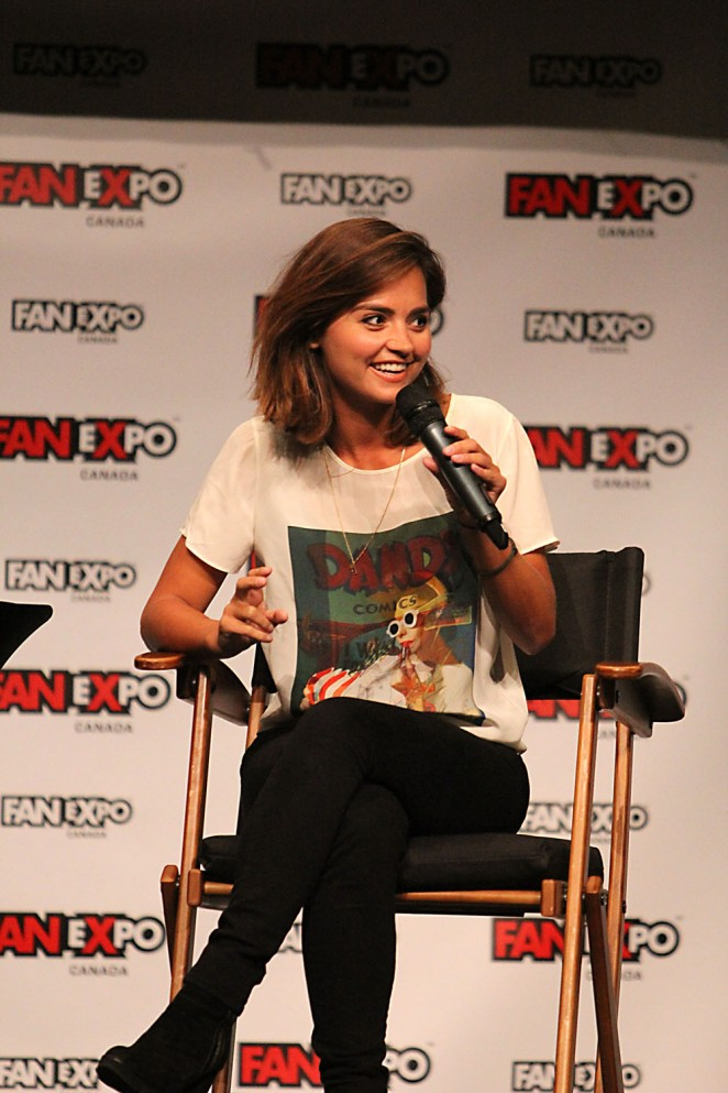Jenna Louise Coleman - Solo Panel at Fan Expo Canada in Toronto