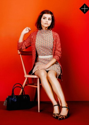 Jenna Louise Coleman - Stylist Magazine (October 2015)