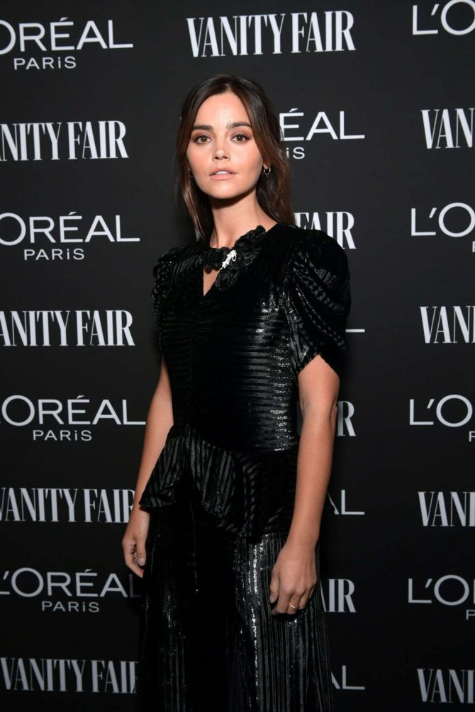 Jenna Louise Coleman - Vanity Fair and L'Oreal Paris Celebrate New Hollywood in LA
