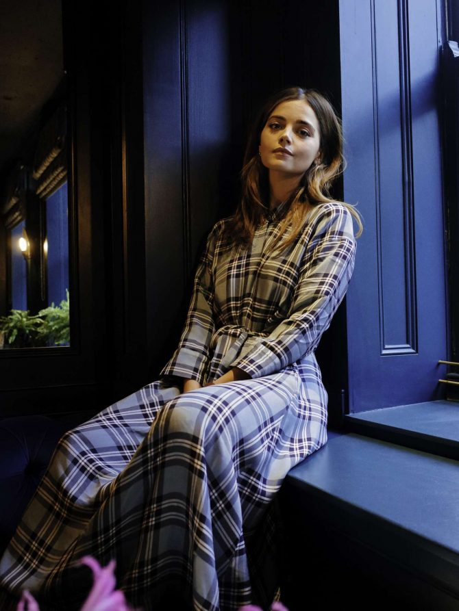 Jenna Louise Coleman – WWD Magazine (January 2019)