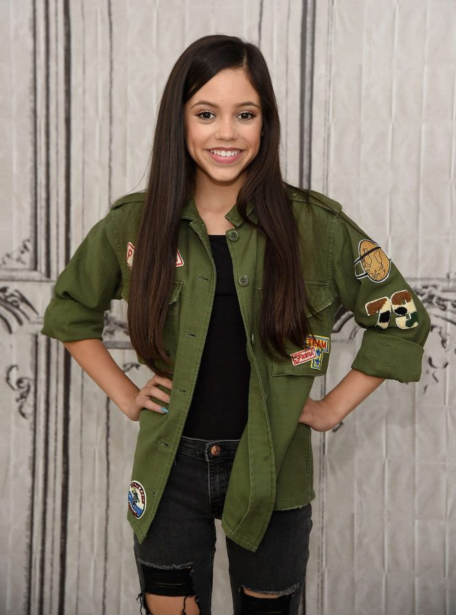 Jenna Ortega - AOL Build Speaker Series in New York City