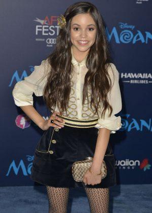 Jenna Ortega - 'Moana' Premiere in Los Angeles