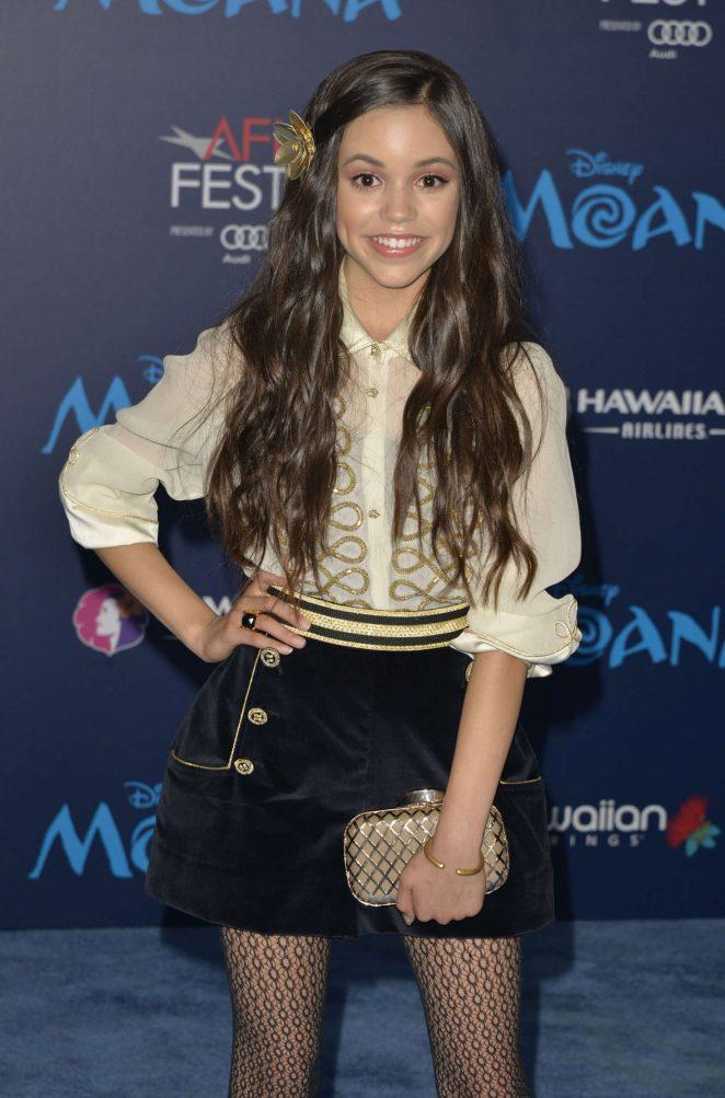 Jenna Ortega - 'Moana' Premiere in Los Angeles