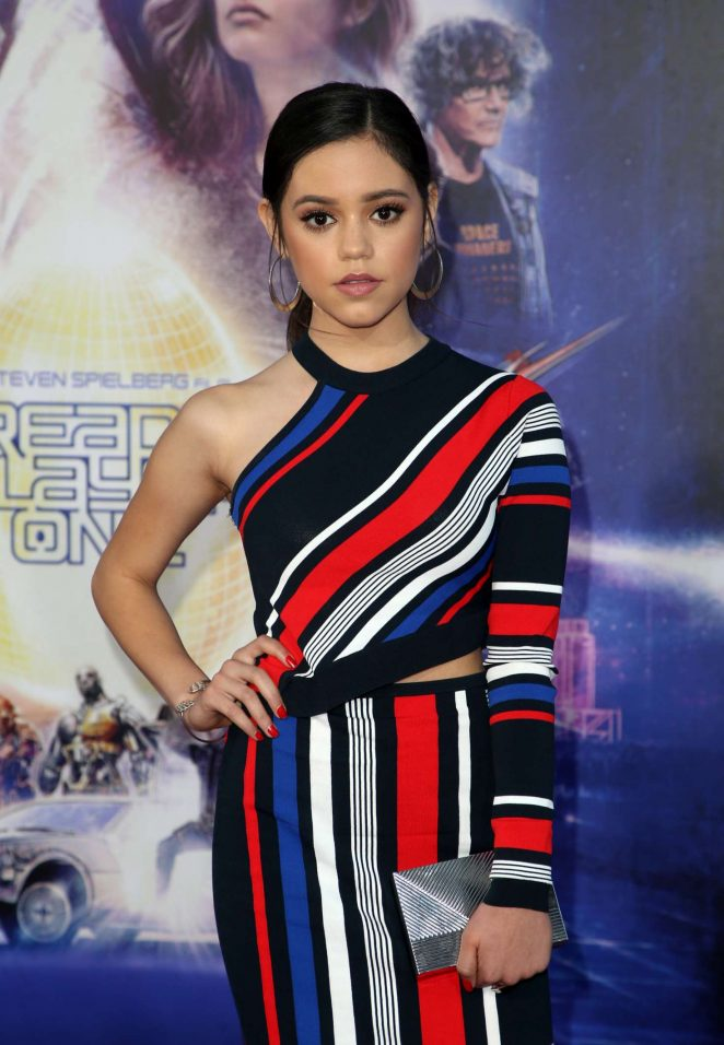 Jenna Ortega - 'Ready Player One' Premiere in Los Angeles