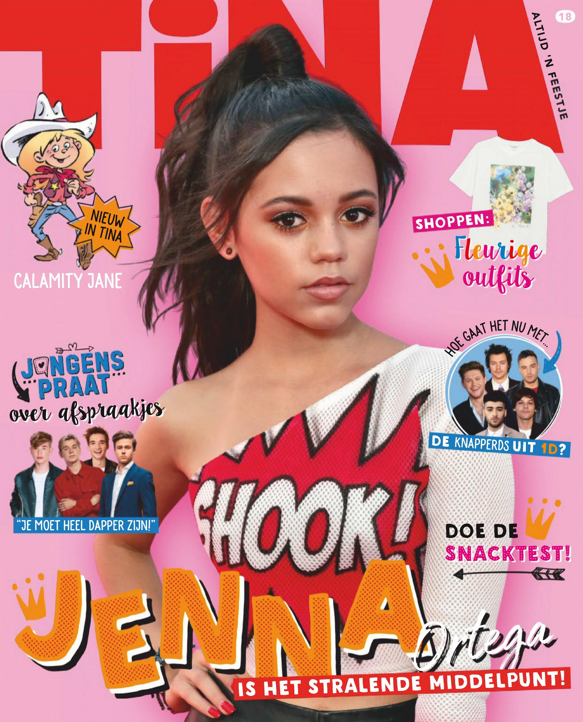 Jenna Ortega - Tina magazine (Netherlands - April 2020)