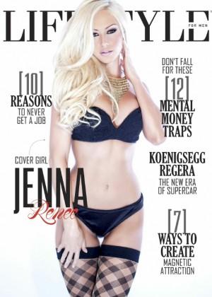 Jenna Renee: Lifestyle for Men Magazine 2015 -03