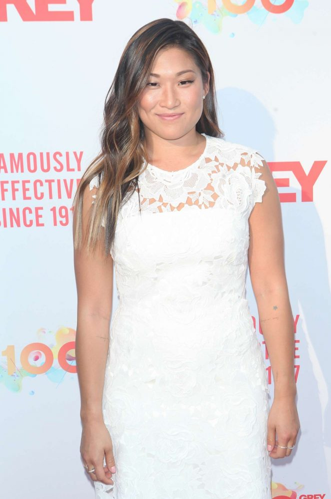 Jenna Ushkowitz - Grey Centennial Gala 2017 in New York