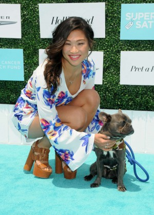 Jenna Ushkowitz: OCRFs 2nd Annual Super Saturday LA -05