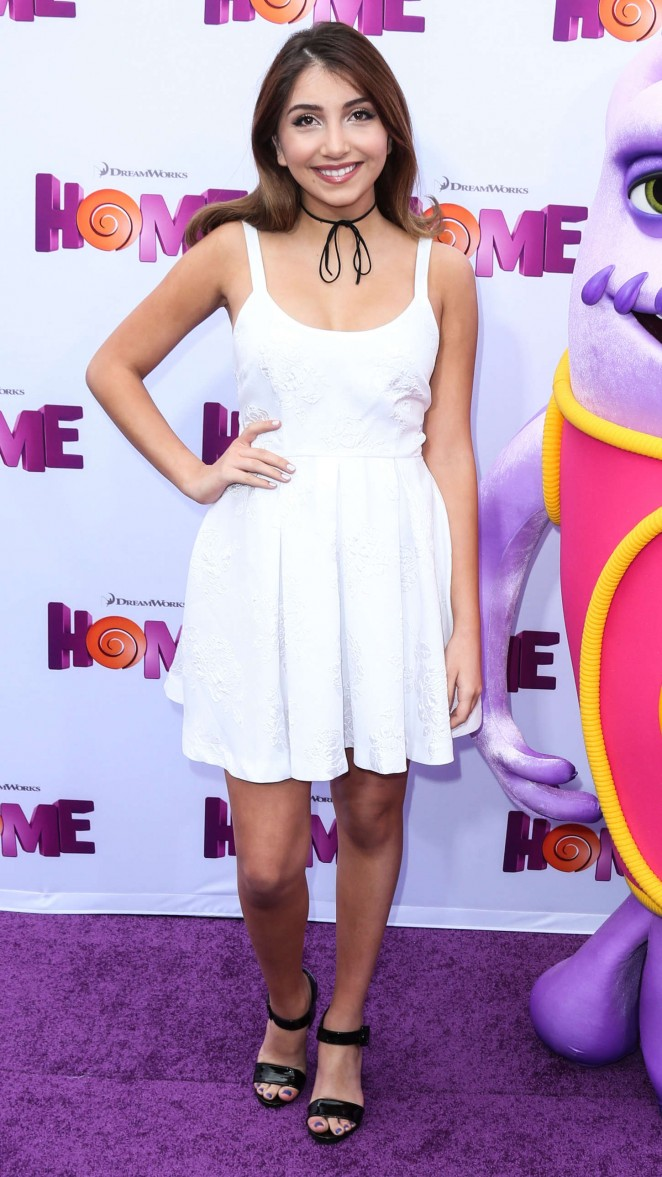 """Jennessa Rose - """"Home"""" Premiere in Westwood"""