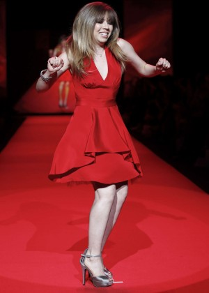 Jennette McCurdy - Go Red For Women Red Dress Collection 2015 in NYC