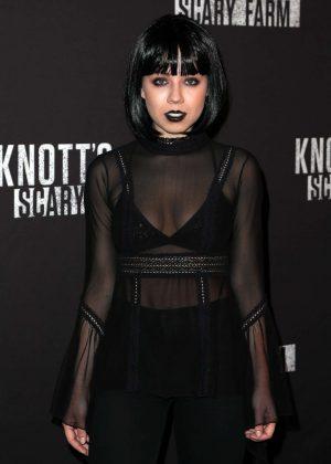 Jennette McCurdy - Knott's Scary Farm Opening Night in Los Angeles