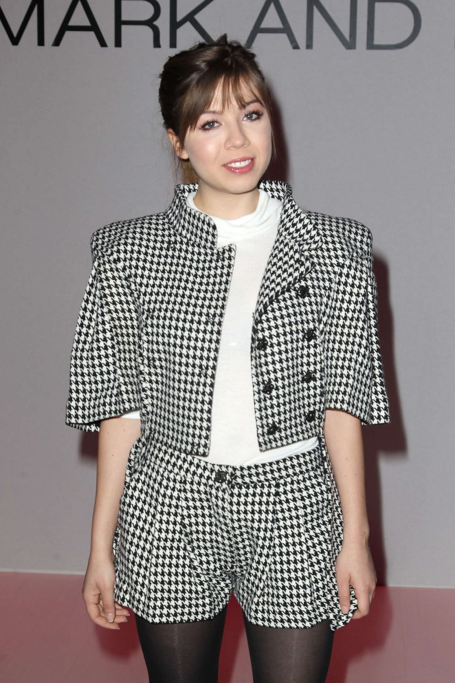 Jennette McCurdy - Mark & Estel Fall 2015 Fashion Show in NY