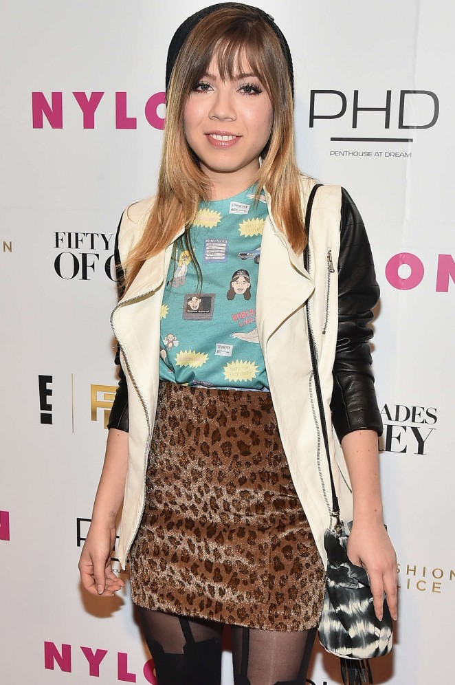 Jennette McCurdy – NY Fashion Week Kickoff With Fifty Shades Of Fashion Event in NY