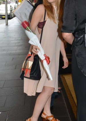 Jennette McCurdy - Out and about in Sydney