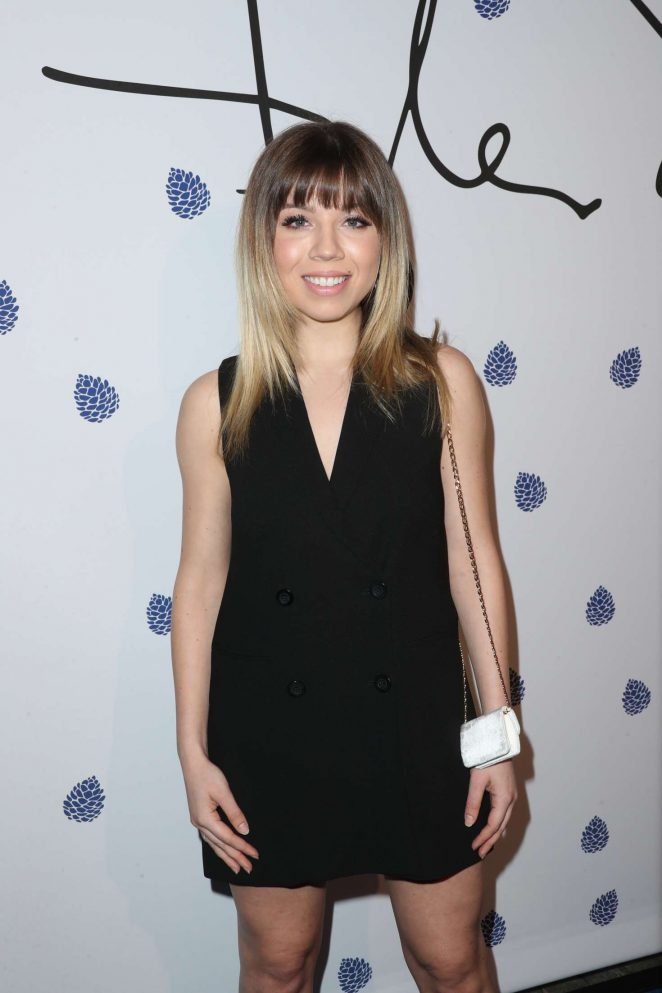 Jennette McCurdy – Tyler Ellis Celebrates 5th Anniversary in West Hollywood