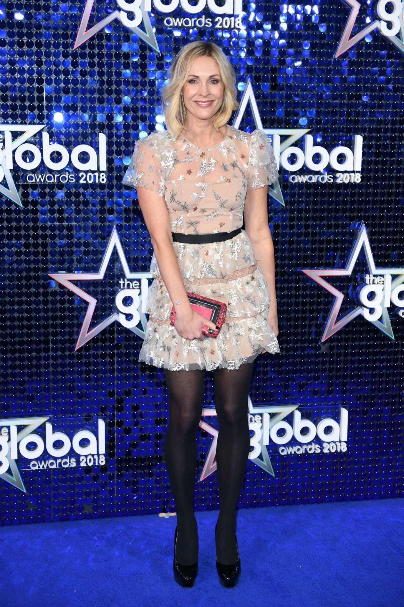 Jenni Falconer 2018 : Jenni Falconer: 2018 Global Awards -04