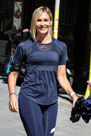 Jenni Falconer at Global Radio Studios in London