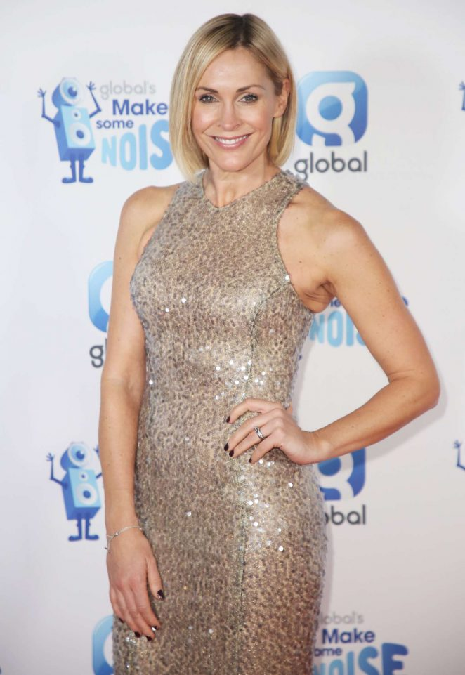 Jenni Falconer - Global Radio's Make Some Noise Charity 2018 in London