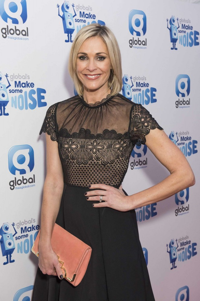 Jenni Falconer - Global's Make Some Noise Gala 2015 in London