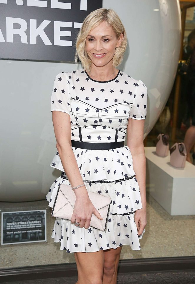 Jenni Falconer - Hello! Magazine x Dover Street Market Party in London