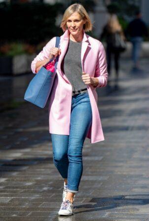 Jenni Falconer - leaving Global Studios in London