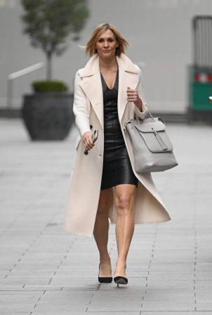 Jenni Falconer - Look classy departing the Global Radio Studios in London