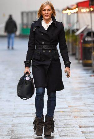 Jenni Falconer - Looks good as usual at Global Studios in London
