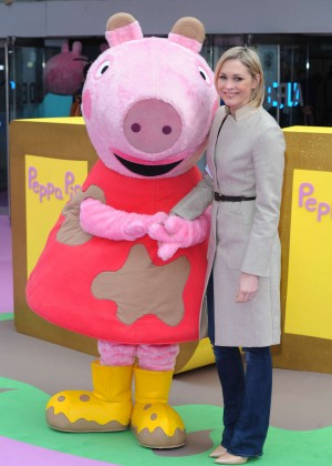 "Jenni Falconer - ""Peppa Pig: The Golden Boots"" Premiere in London"