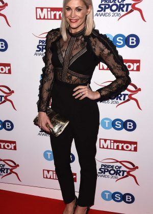 Jenni Falconer - Pride of Sports Awards 2016 in London