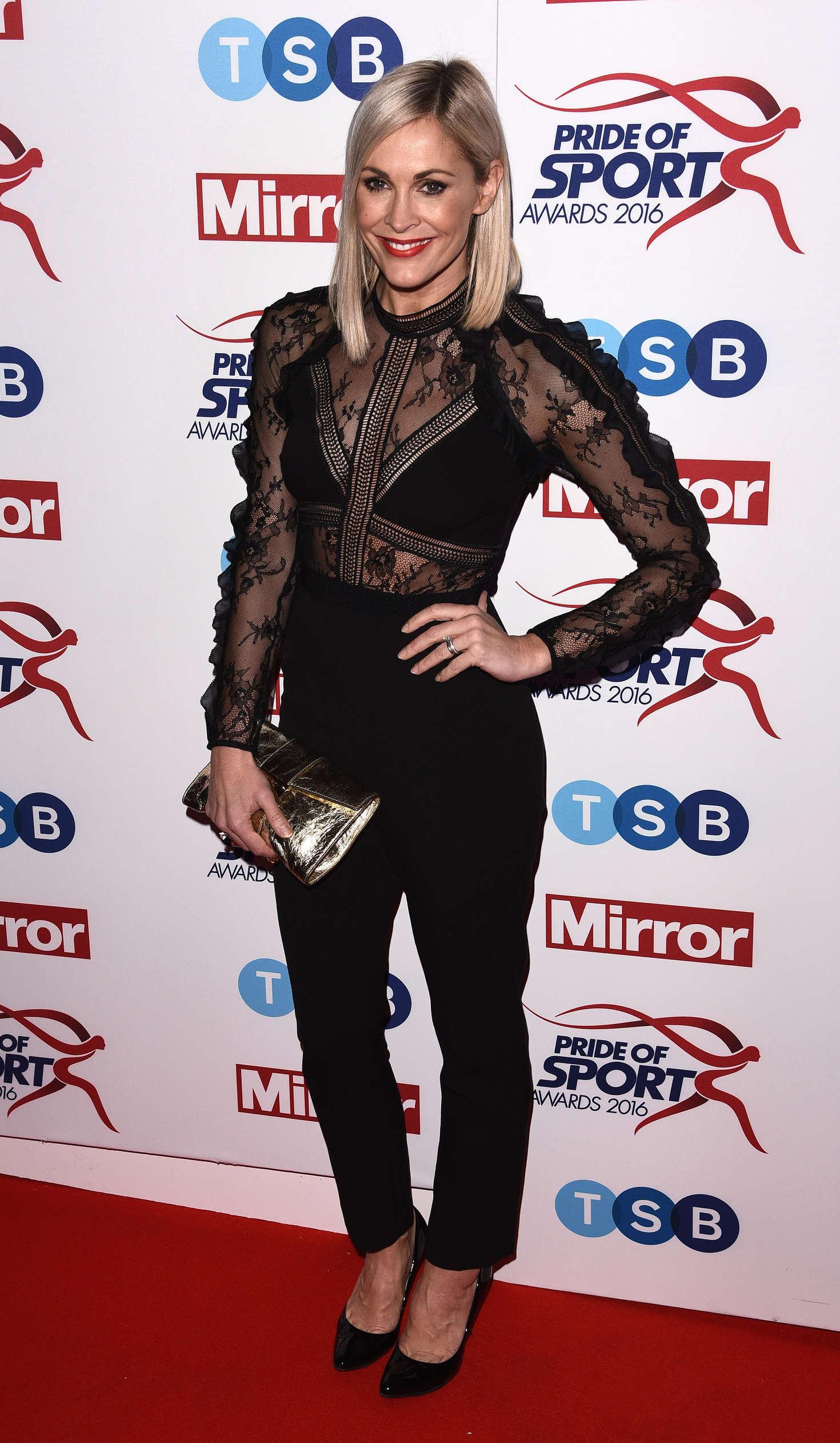 Jenni Falconer - Pride of Sports Awards 2016 in London