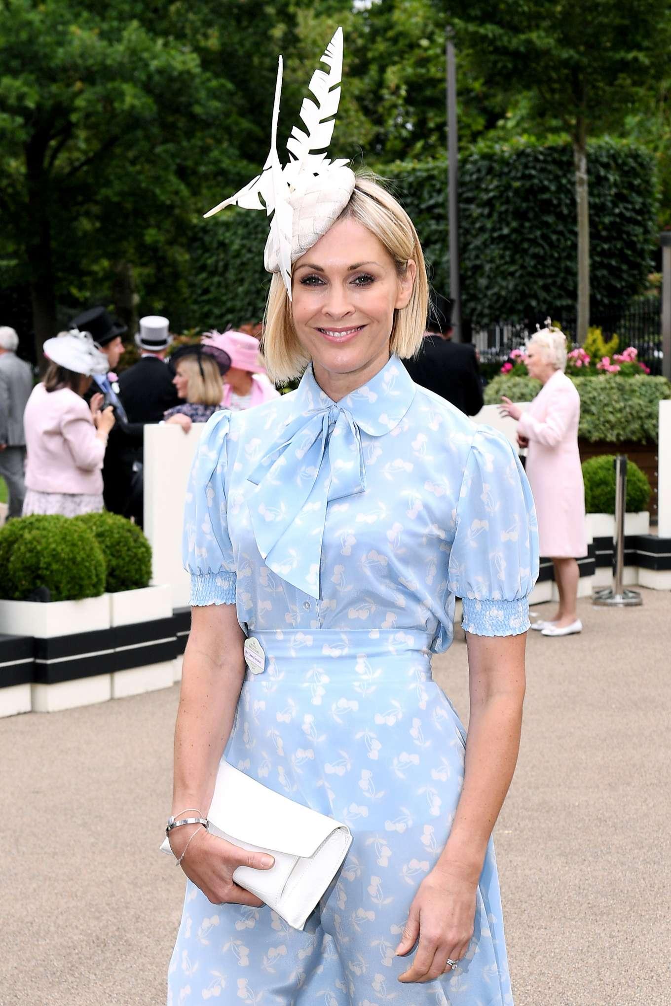 Jenni Falconer - Royal Ascot Fashion Day 3 in Ascot