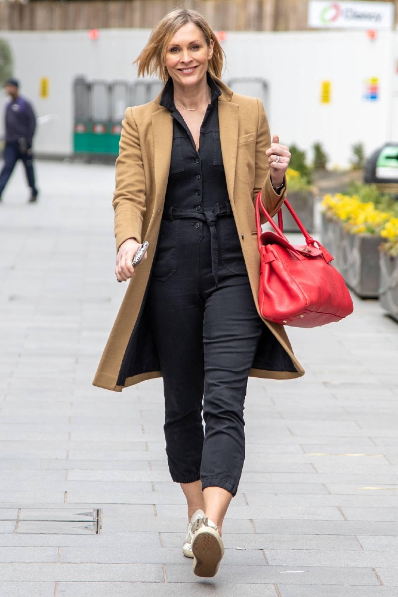 Jenni Falconer 2021 : Jenni Falconer – Seen after radio show in London-01