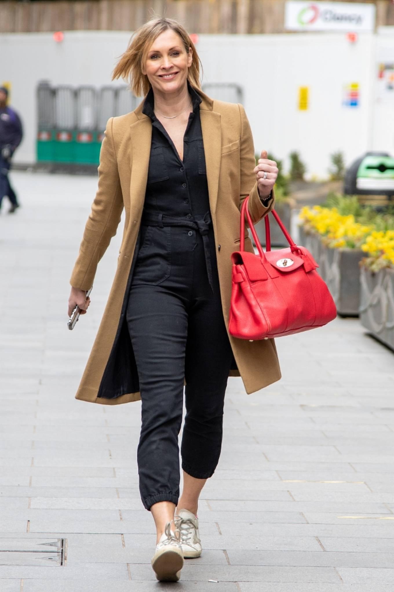 Jenni Falconer 2021 : Jenni Falconer – Seen after radio show in London-03
