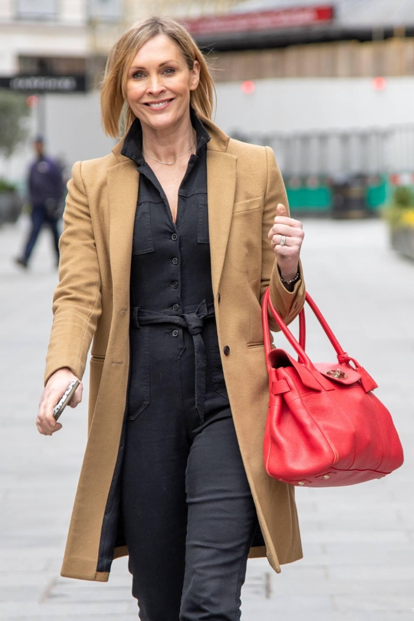 Jenni Falconer 2021 : Jenni Falconer – Seen after radio show in London-04