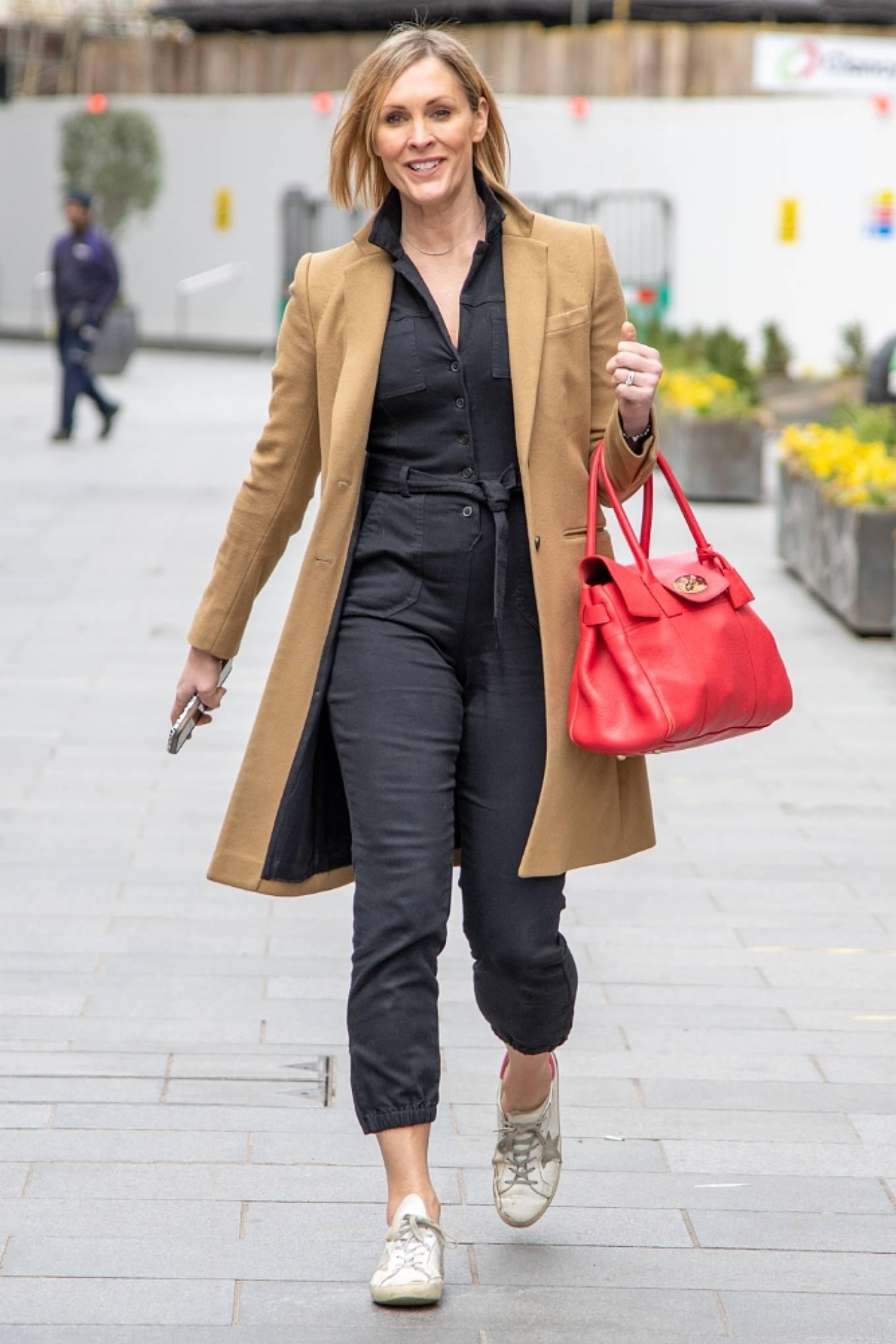 Jenni Falconer 2021 : Jenni Falconer – Seen after radio show in London-05