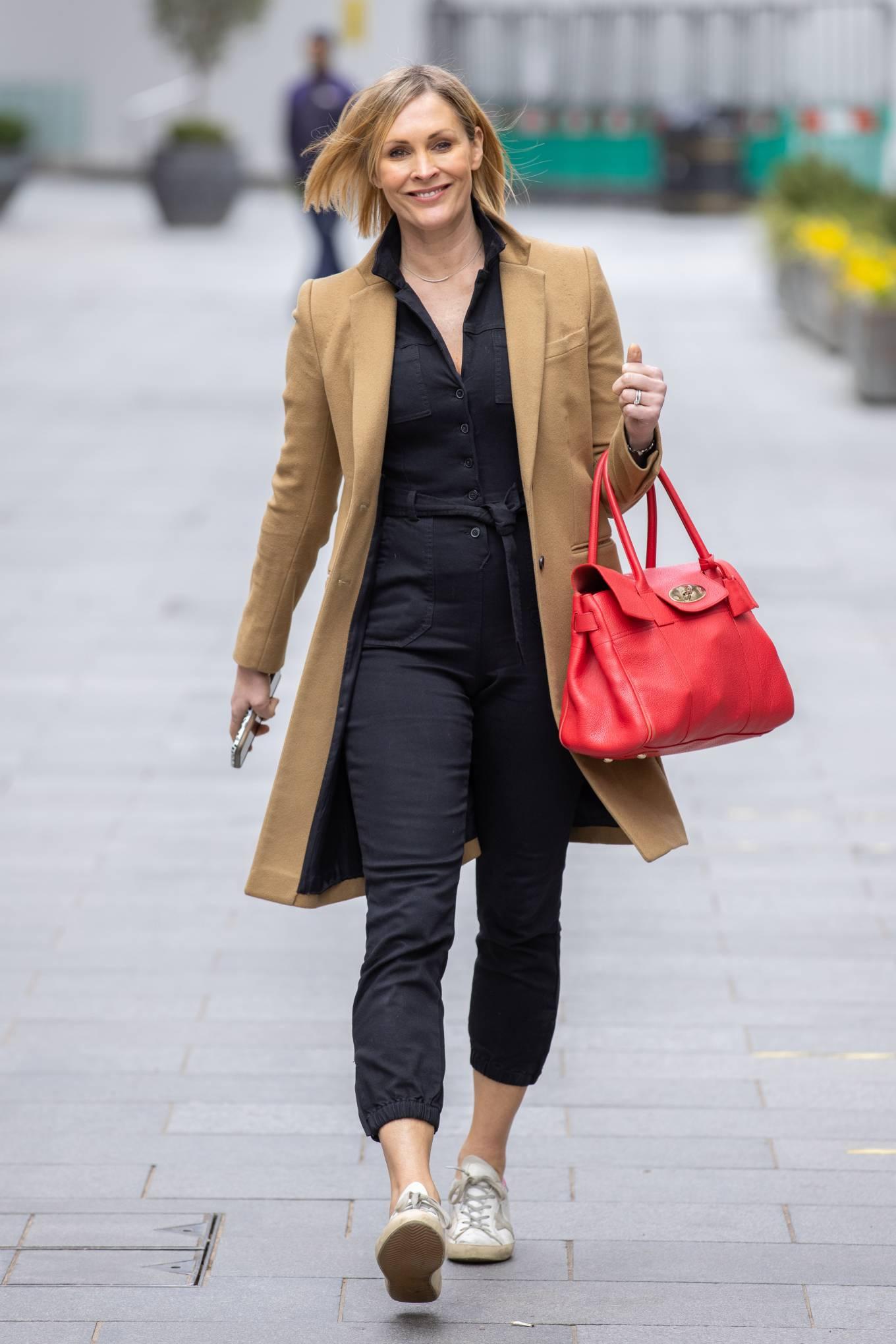 Jenni Falconer 2021 : Jenni Falconer – Seen after radio show in London-06