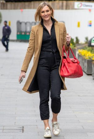 Jenni Falconer - Seen after radio show in London